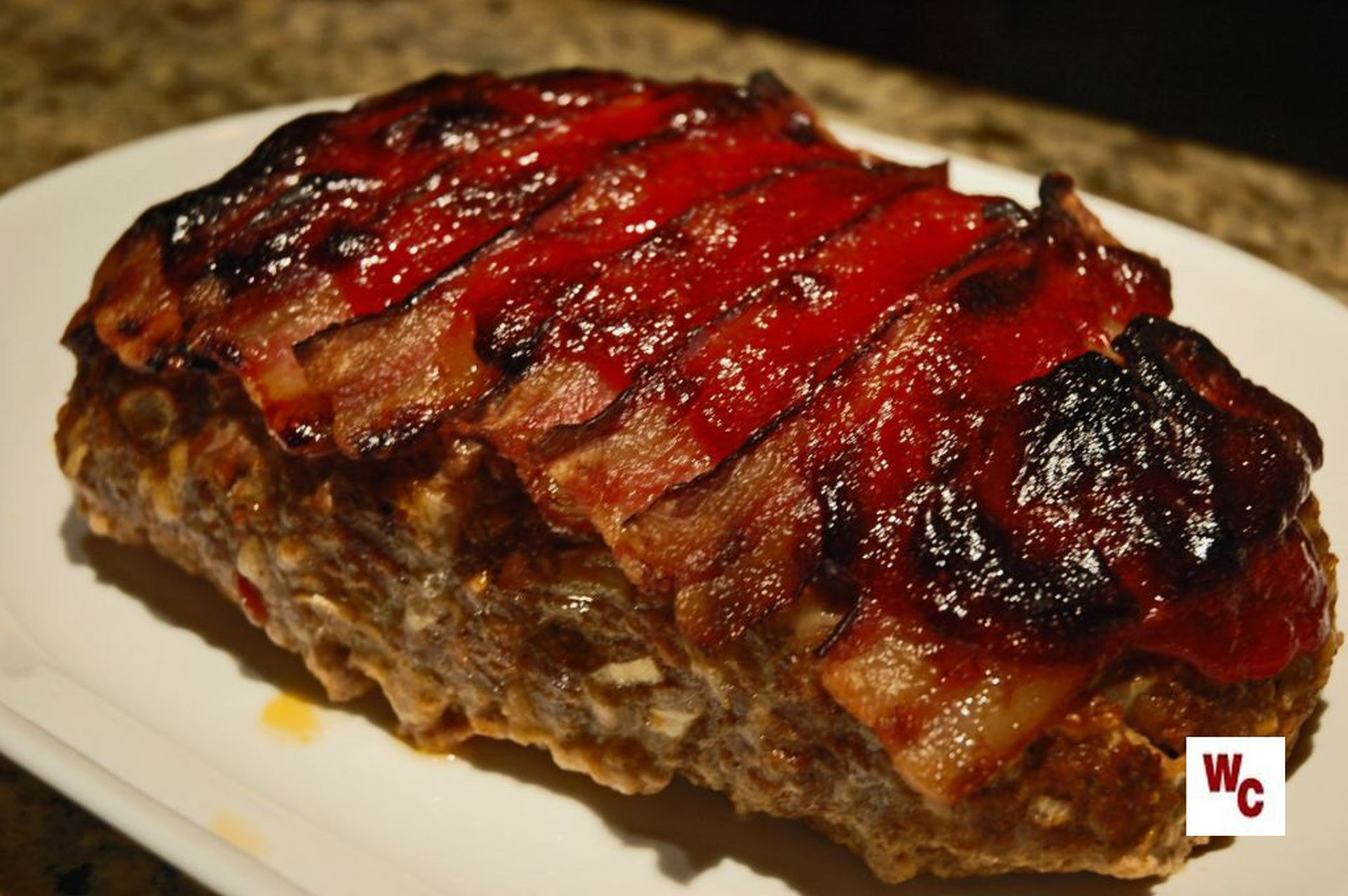 Bacon Wrapped Meatloaf Food Network