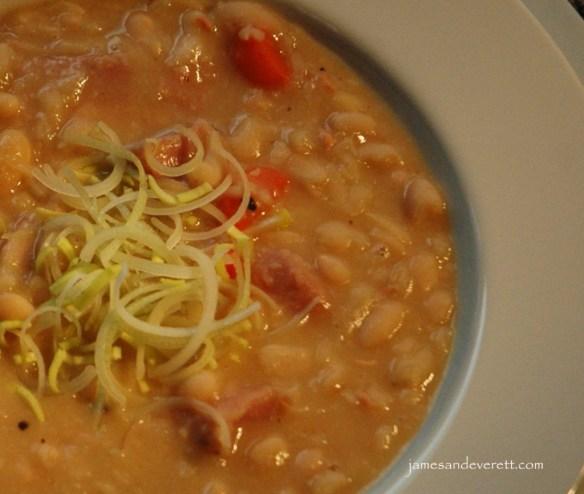 white bean soup 5