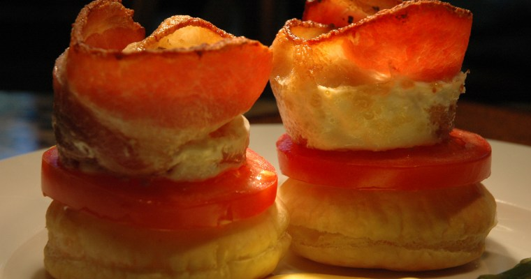 Egg & Bacon Cups ~ Eggs Vivian