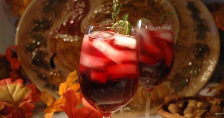 Thanksgiving Cocktails: Cranberry Gobbler