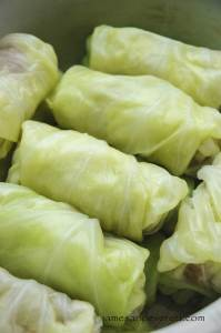 Slow cooker cabbage roll recipe