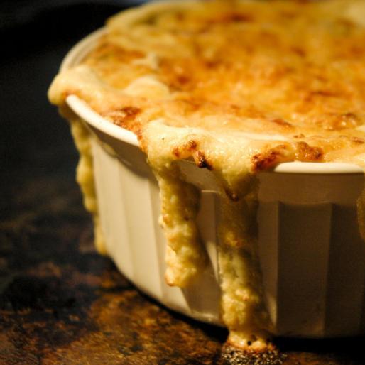 Hot Artichoke & Parmesan Dip