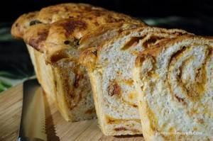 BBQ & Cheddar Braid Bread
