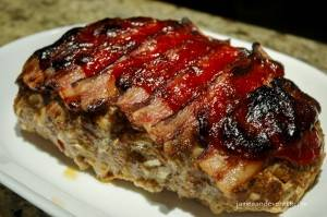 Bacon Topped Meatloaf