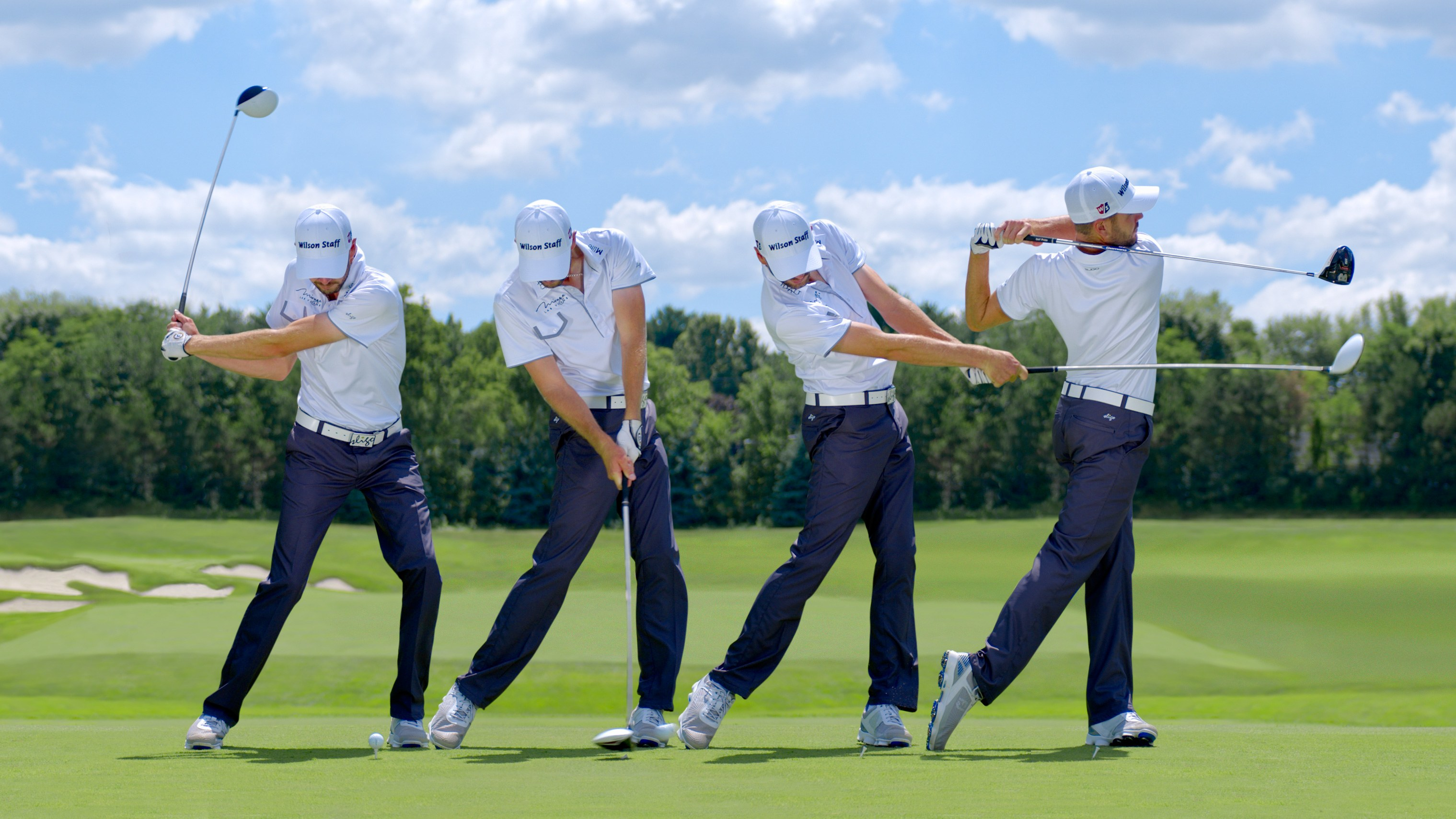 Front swing sequence