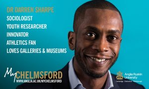 My Chelmsford Anglia Ruskin University Dr Darren Sharpe