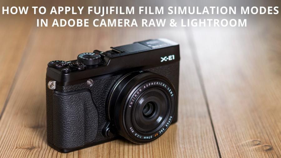 Fujifilm Film Simulation Modes for Raw files