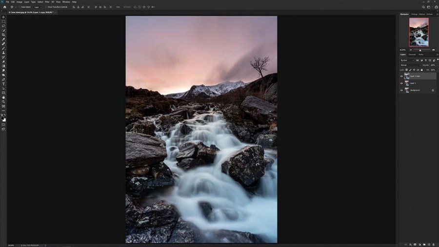 Orton Effect Photoshop Tutorial Step