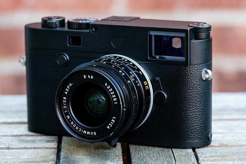 Leica M10 Monochrom rangefinder camera