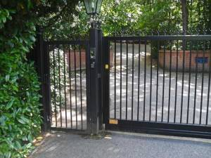The Berystede Pedestrian Gate