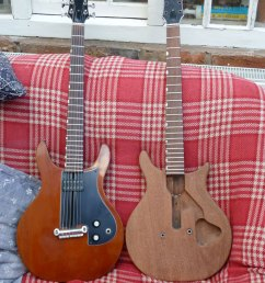 a brace of dan armstrong london guitars [ 768 x 1024 Pixel ]