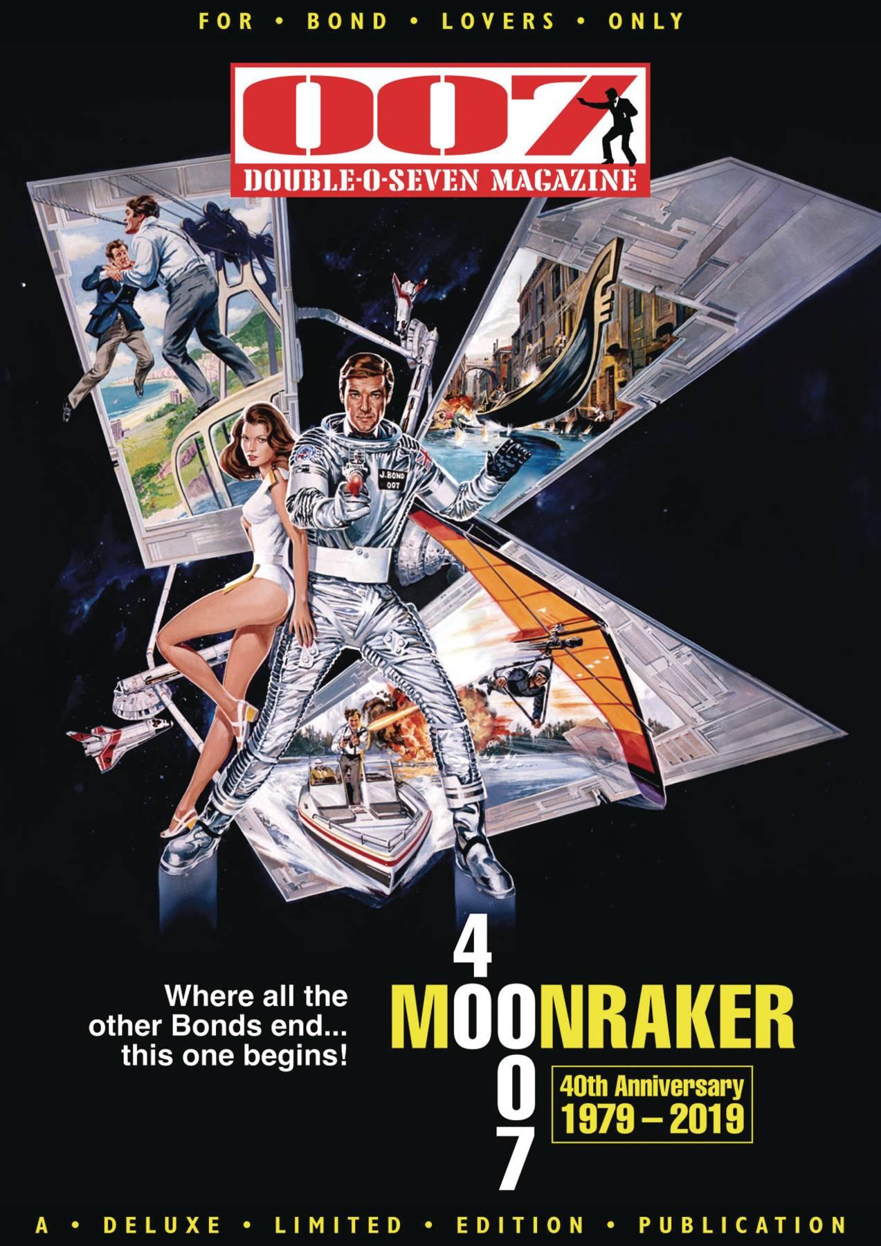 007 Magazine #59 Moonraker cover