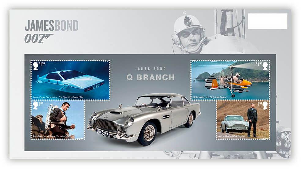 Royal Mail postzegels 2020 presentation pack 005