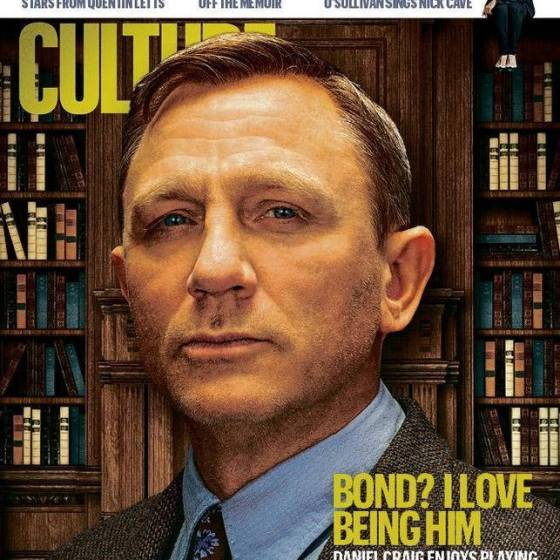 Daniel Craig Sunday Times Culture Cover
