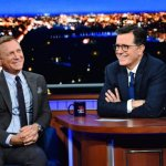 Daniel Craig Confirms 'No Time To Die' is His Final Bond Film on 'The Late Show with Stephen Colbert'