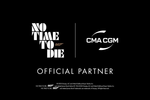 CMA CGM Official Partner of No Time To Die