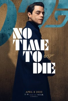 Rami Malek No Time To Die Character Poster