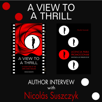 A View To A Thrill Author Interview with Nicolás Suszczyk