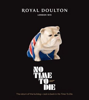 Royal Doulton Jack the Bulldog No Time To Die