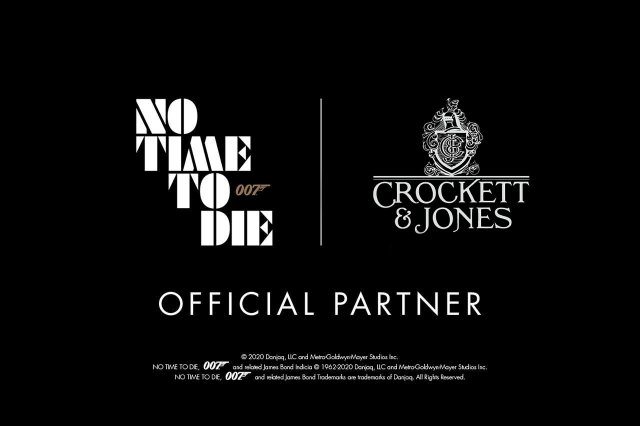 Crockett and Jones Official Partner No Time To Die