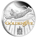 'GoldenEye' 25th Anniversary 2020 1oz Silver Proof Coin from the Perth Mint