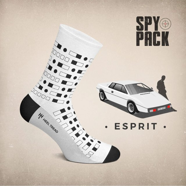 Heel Tread Lotus Esprit Socks