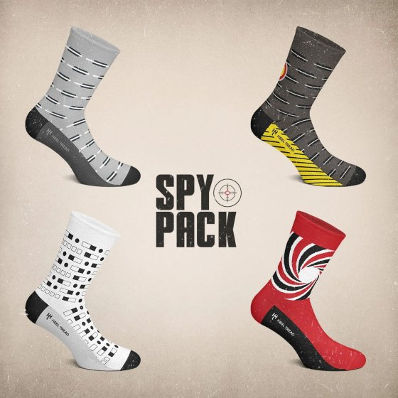 Heel Tread James Bond Socks