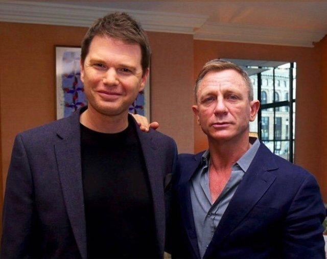 James King and Daniel Craig