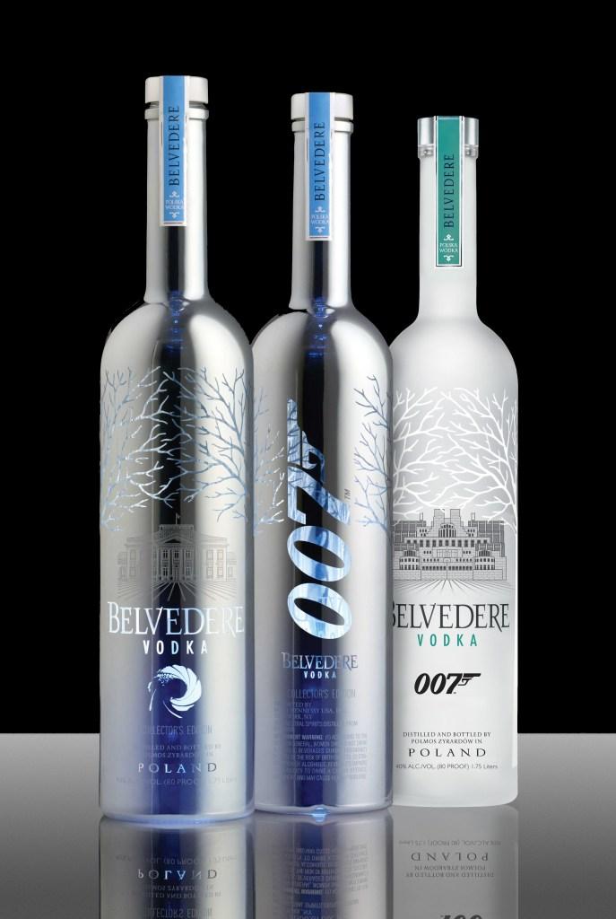 Edições limitadas da garrafa © Belvedere Vodka