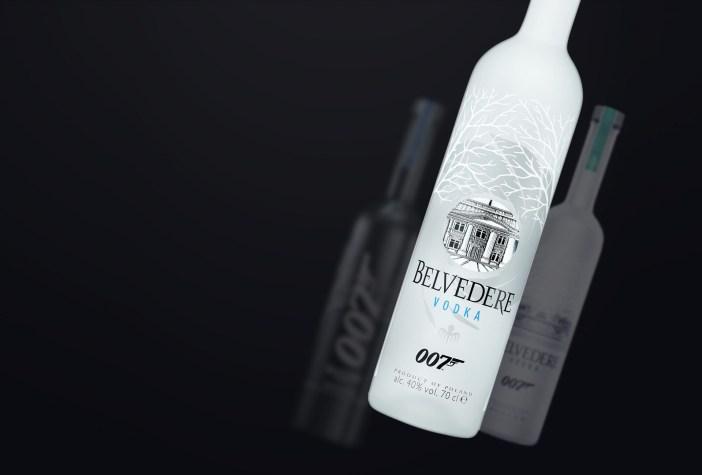As edições especiais da garrafa © Vodka Belvedere / Divulgação