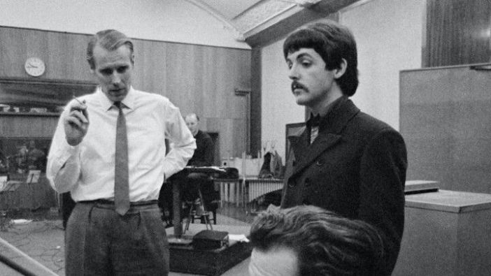 George Martin e Paul McCartney © AFP