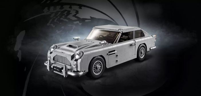 LEGO lança Aston Martin de James Bond