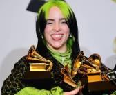 Billie Eilish leva as quatro principais categorias do Grammy