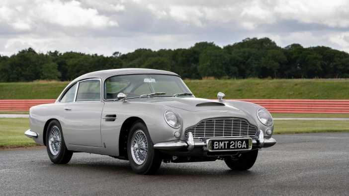 O Aston Martin DB5 Goldfinger Continuation © Reprodução