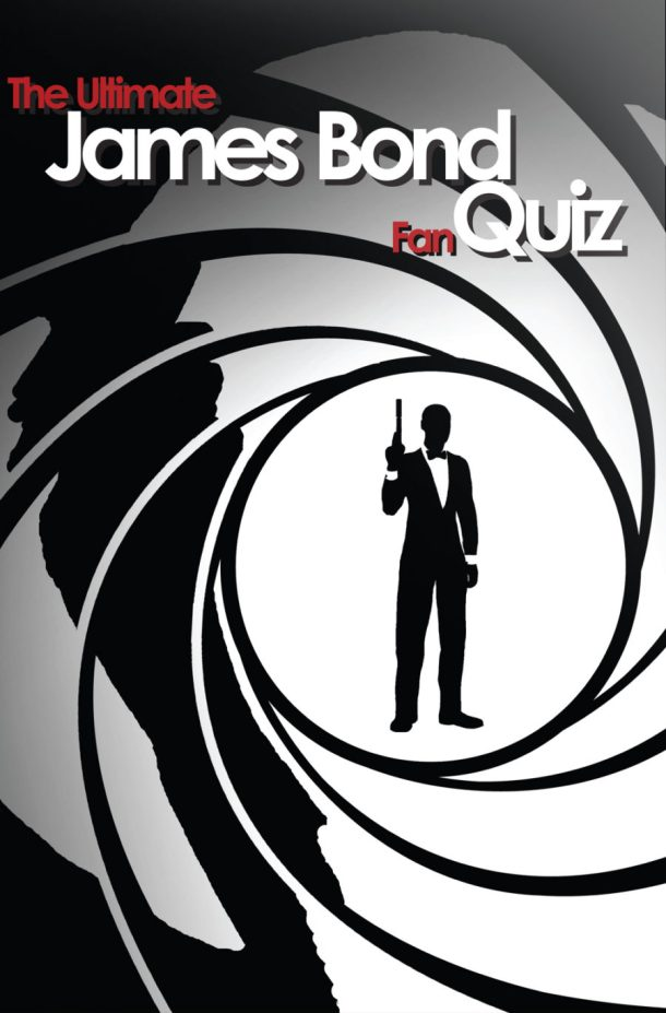 James Bond Quiz Book Cover