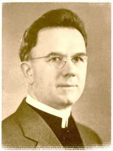 "Author photo from his book, ""History of the Brethren in Christ Church. Nappanee, IN, 1942."""