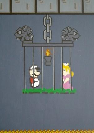 Fire Mario & the Princess (Loves Labors Lost)