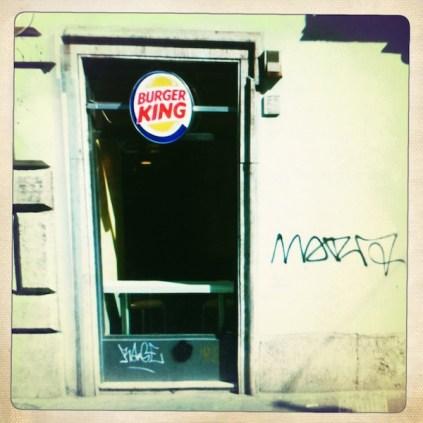 Burger King e Graffiti a Roma (Rephotographed) 10