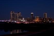 FW Skyline, dusk