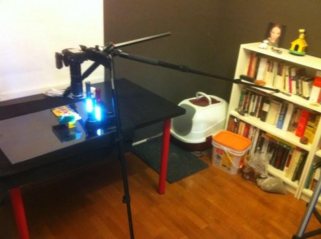 Crazy-ass setup