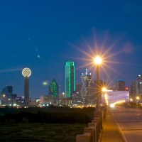 6 Dallas Skyline Meetup flare and ghosts 20120825©JamesECockroft