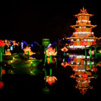 Chinese Lantern Festival148 pagoda on the pond©JamesECockroft 20130104