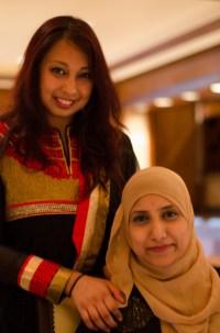 Tania Sultana and Thahmina Choudhury