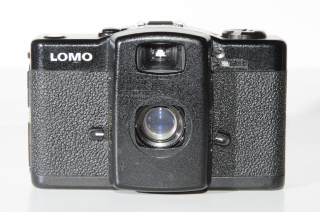 Lomo LC-A open and ready for action
