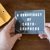 """unboxing """"A Conspiracy Of Cartographers, vol. 1"""""""