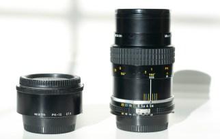 Micro Nikkor 55mm f/2.8 AI-s at 1:2 and PK-13