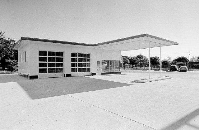former gas station