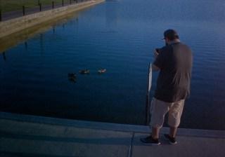 Carlos, shooting ducks
