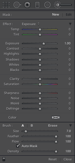 CC brush panel