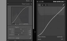 LRCC Tone Curve comparison